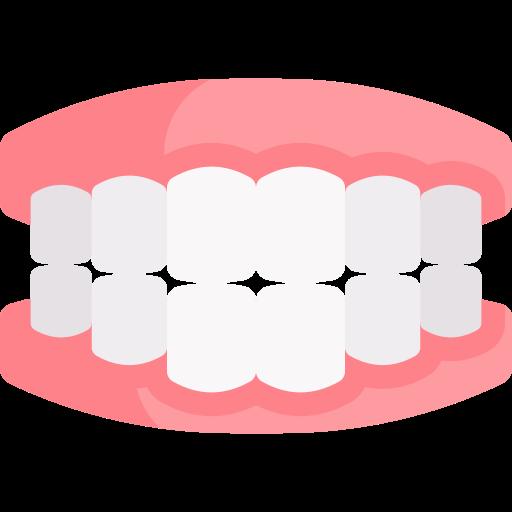 steg 2 - placera remsorna på tänderna